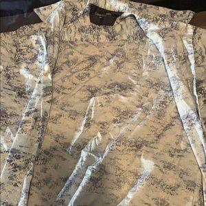 CK button shirt